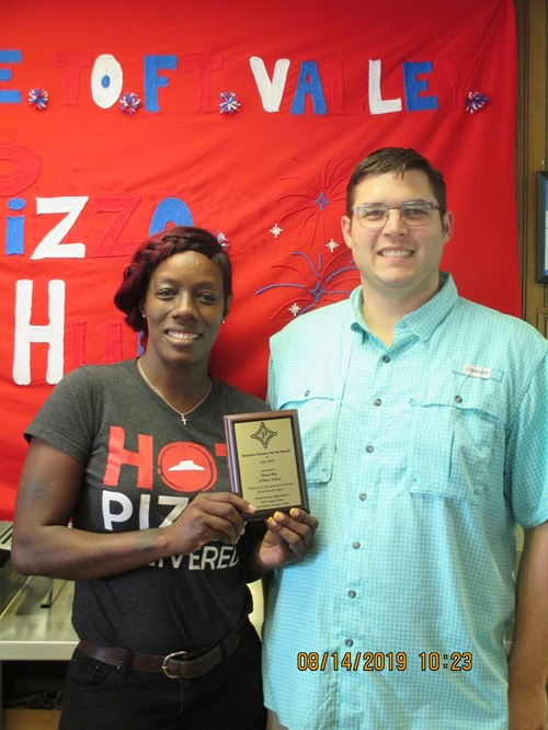 PCHS LSGT Business of the Month for July is Pizza Hut of