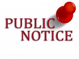 PUBLIC NOTICE - Called board meeting - Fort Valley Middle School