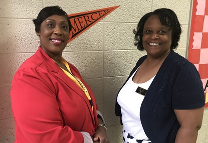 Ms. Glover and Mrs. Clark