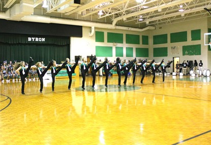 1st Pep Rally - Dance Team