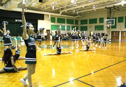 1st Pep Rally - Cheerleaders