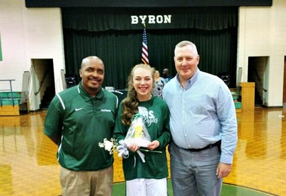 8th Grade Basketball Girl's Recognition