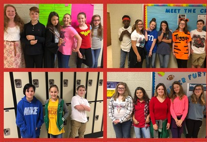 7th Grade Character Day - Spirit Week