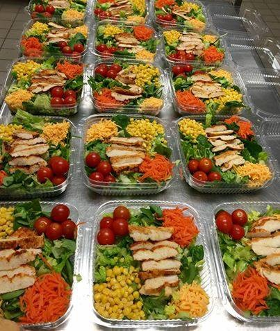 Fresh Salads offered at Peach County High School