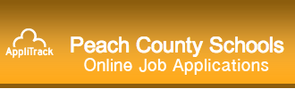 Peach County Schools online job applications