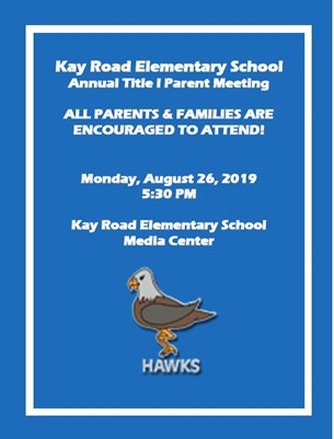 KRES Annual Title I Parent Meeting